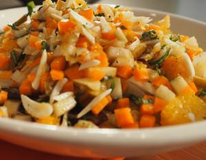 Chinmaya bhiksha Salad recipe Vaidya Priyanka AUMcuisine